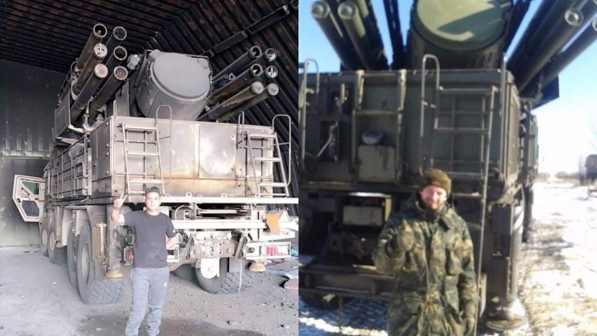 """Российский ракетно-пушечный комплекс """"Панцирь-С1"""" зафиксировали в Ливии и на Донбассе: фото"""