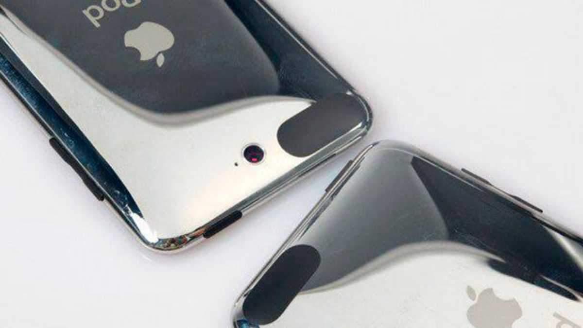 Дизайн непредставленого iPod touch 3 Gen