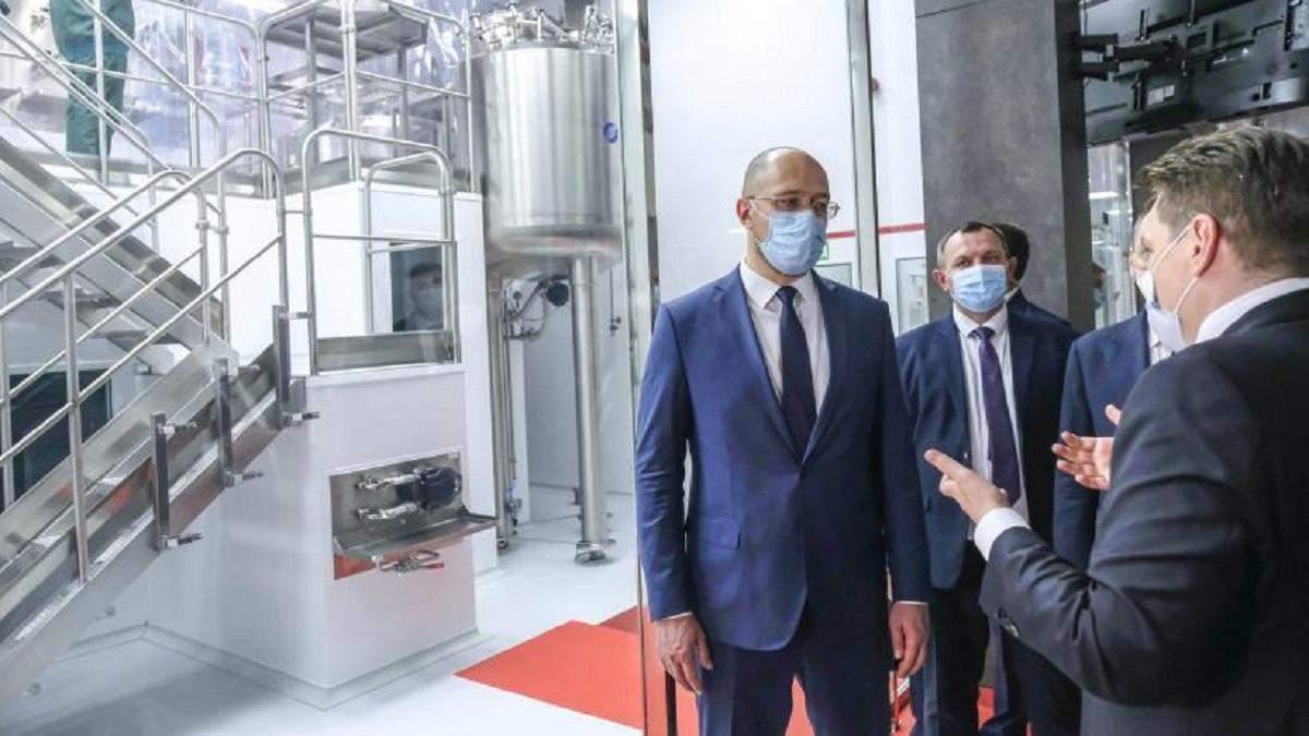 Денис Шмыгаль и Максим Степанов посетили завод-фракционатор Biopharma