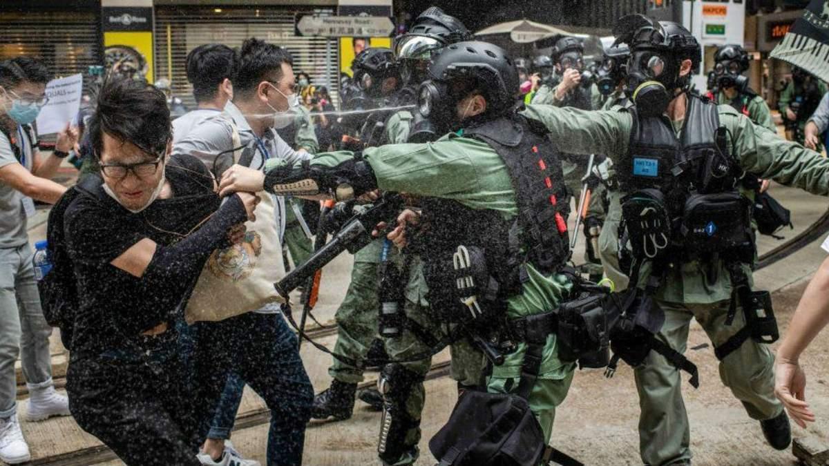Новая битва за Гонконг