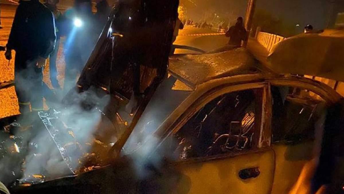 В Харькове произошла авария с полицейским авто: есть погибшие и пострадавшие