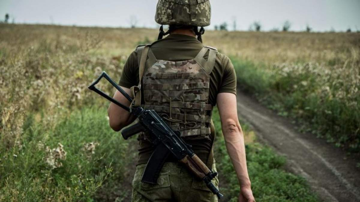 Украинского военного, вероятно, похитили у Чонгара