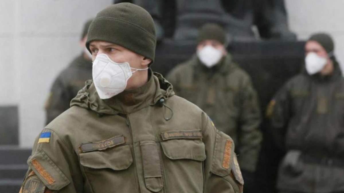 Коронавірус серед військових