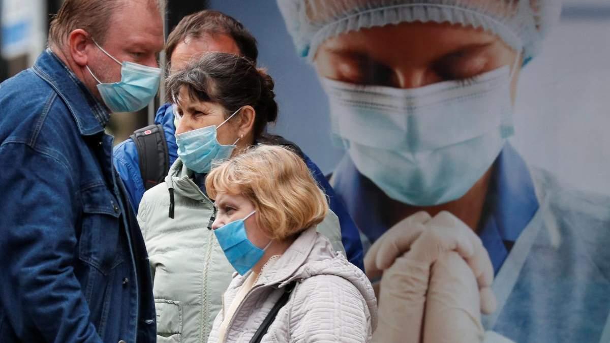 Скільки в Україні хворих на коронавірус