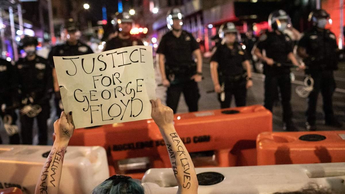 Доньку мера Нью-Йорка арештували через участь у масових протестах