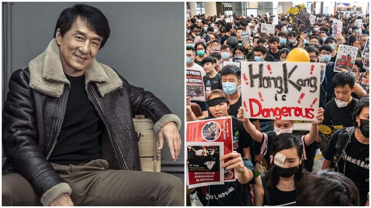 Джекі Чан підтримав Китай проти рідного Гонконгу – 24 канал