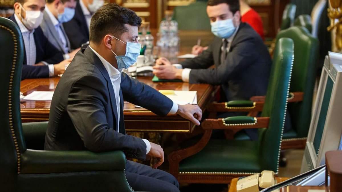 Зеленський заявив, що Україна пройшла першу хвилю пандемії коронавірусу