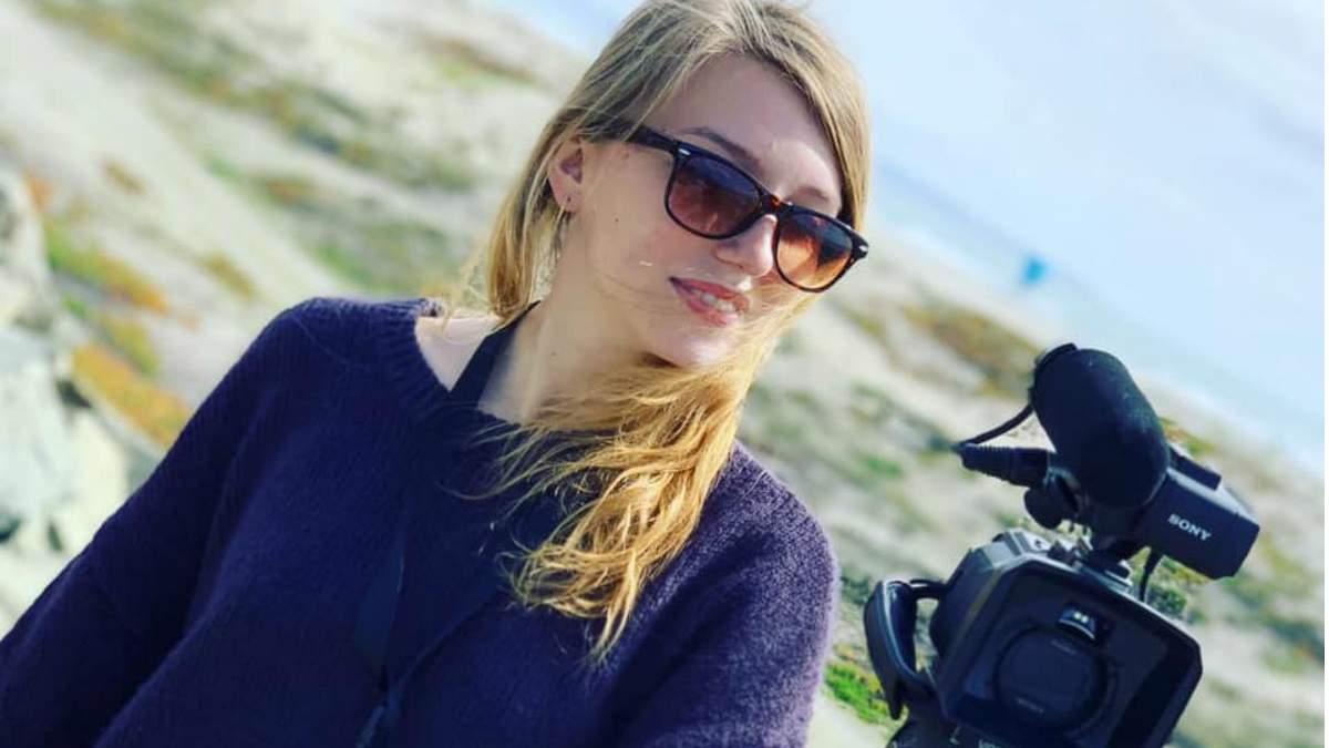 Журналистка Кристина Шевченко, на которую напали в США