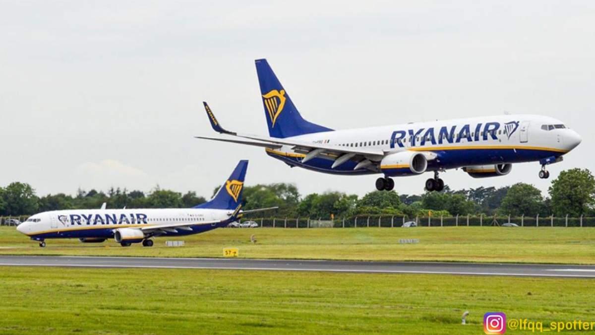 Ryanair відновлює польоти з України до Італії