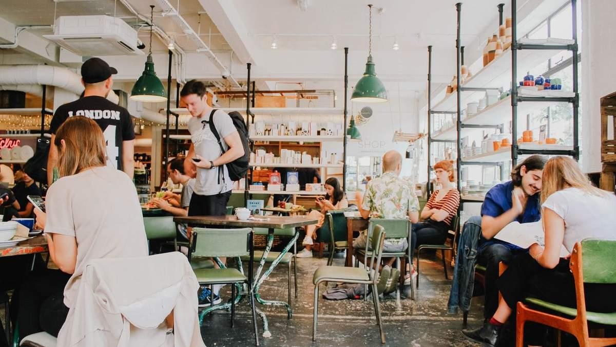 Робота кафе та ресторанів з 5 червня