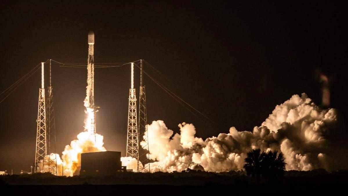 SpaceX ілона Маска вивела на орбіту 60 супутників Starlink