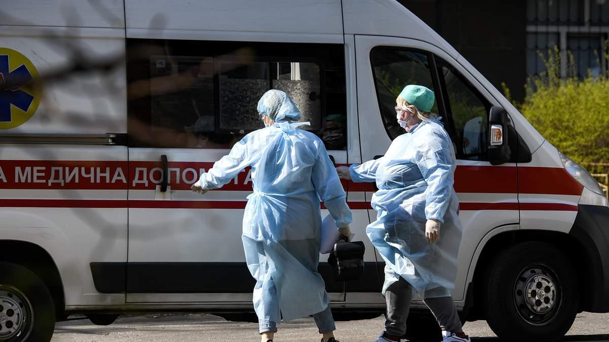 Кількість хворих українців на коронавірус
