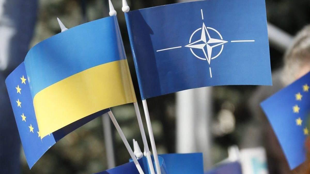 Интеграция Украины в ЕС и НАТО: сколько поддерживают