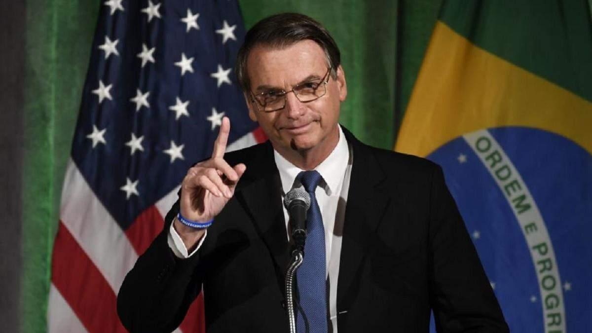Болсонару погрожує виходом Бразилії з ВООЗ: причина