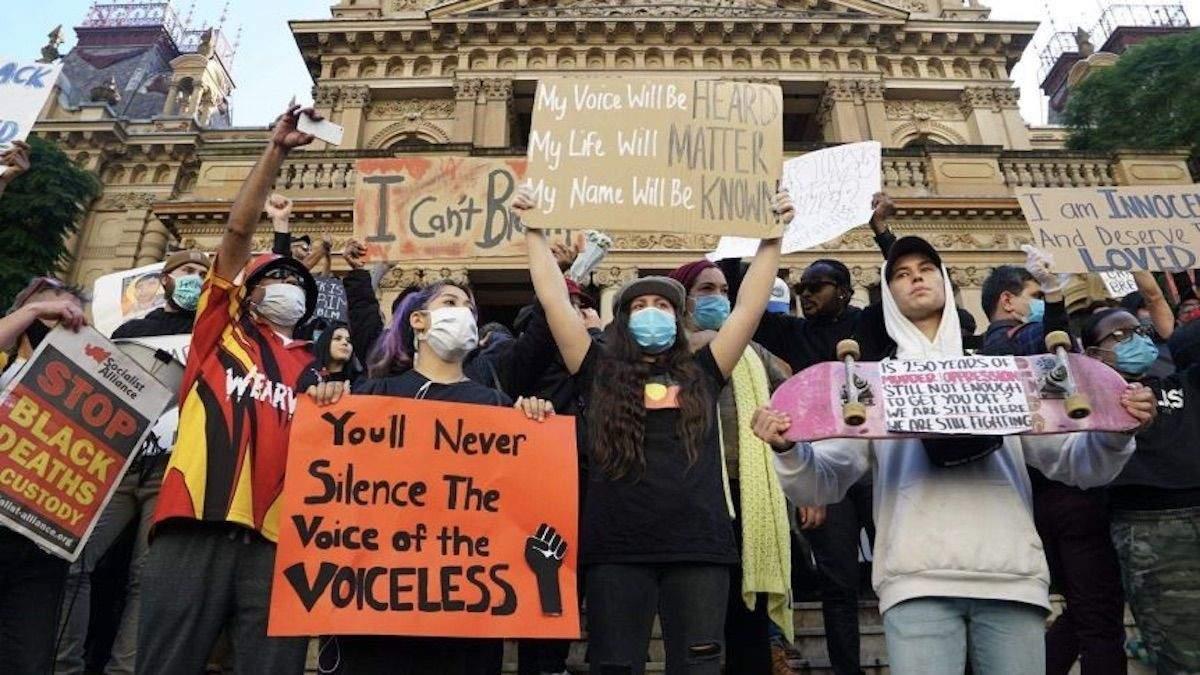 Протесты против расизма в Австралии: фото, видео
