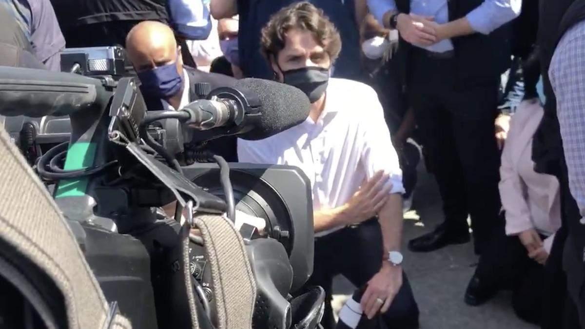 Джастін Трюдо взяв участь у протесті