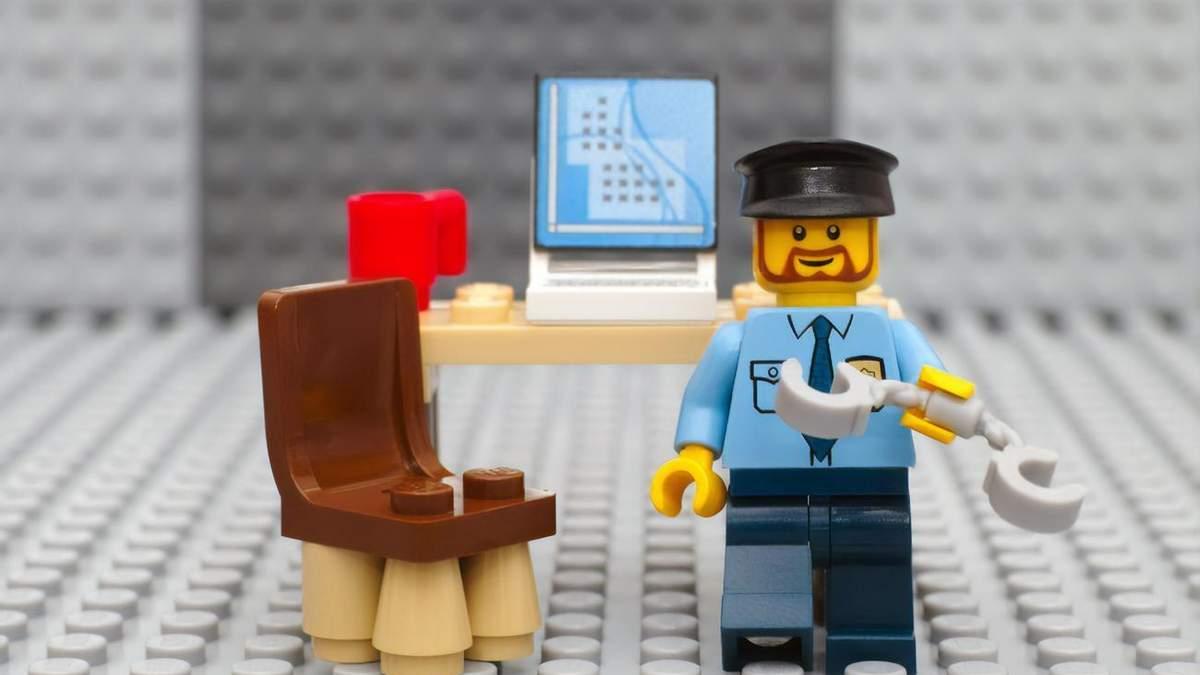 Lego не рекламуватиме конструктор з поліцейськими