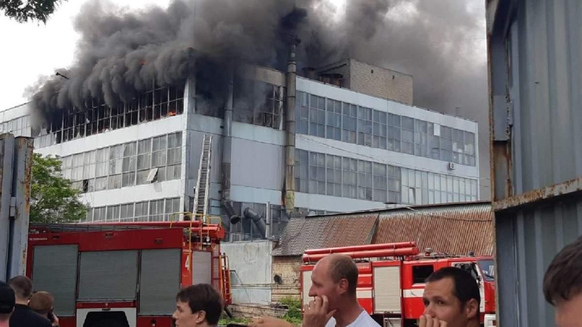 Пожежа на фабриці Міда в Запоріжжі 6 червня 2020: фото, відео