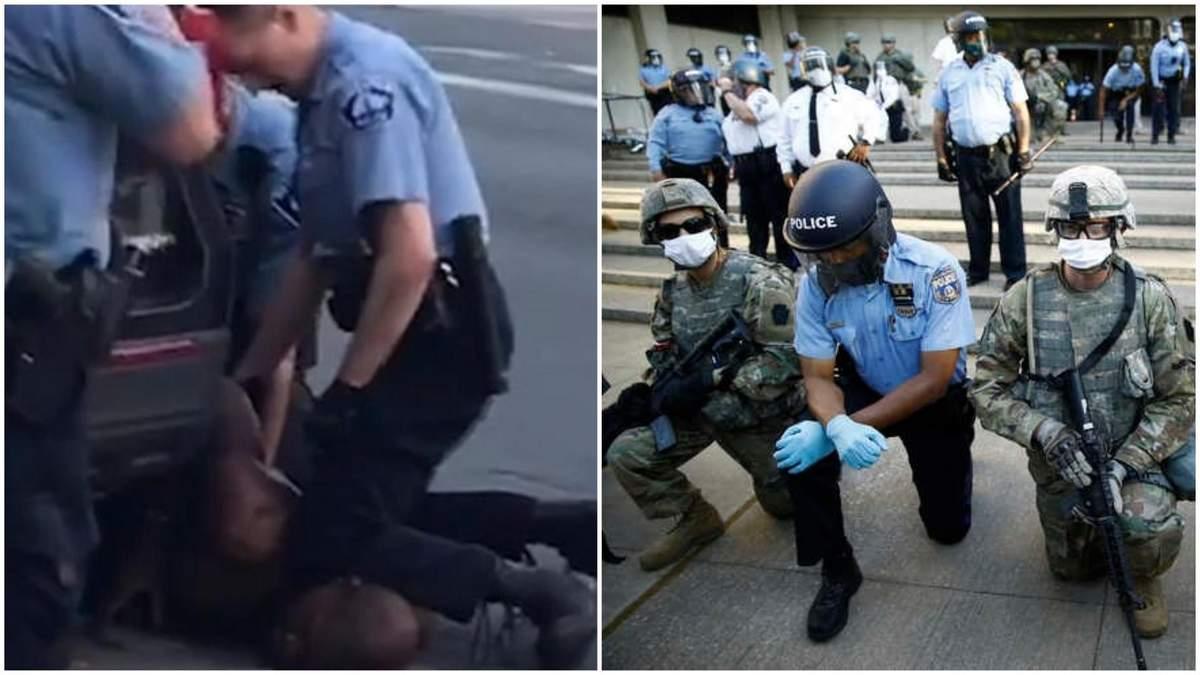 Смерть Флойда: у Міннеаполісі поліції заборонять душити людей