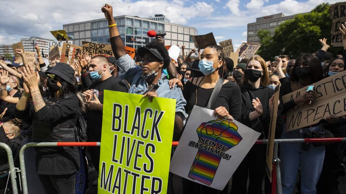 Протести у Берліні