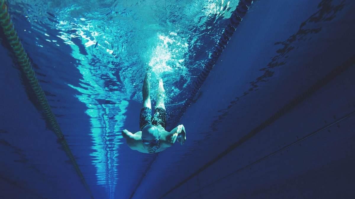 Защитная маска для плавания