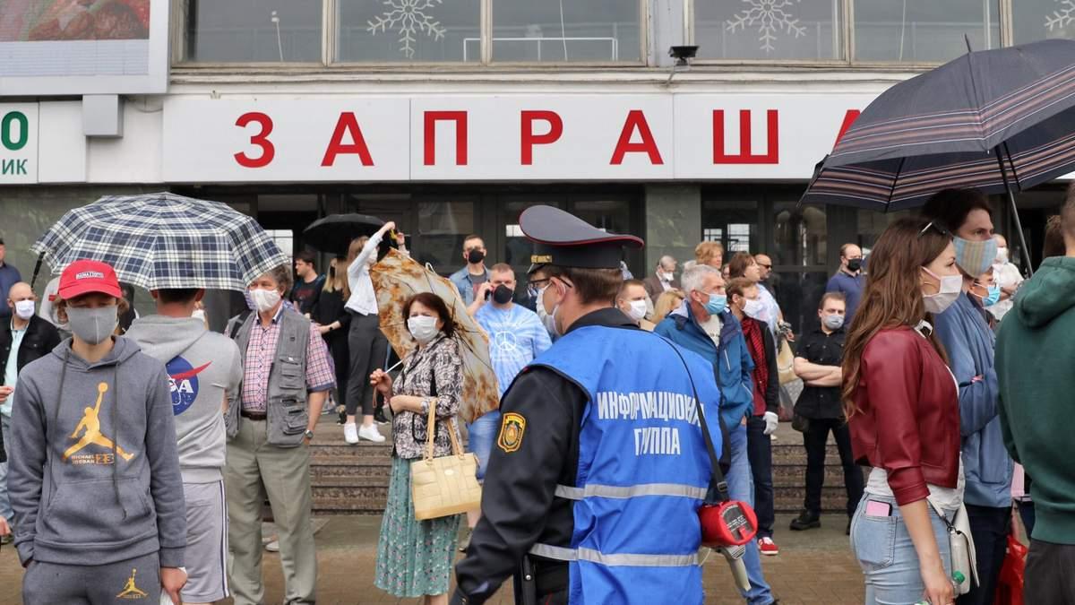 В Беларуси прошли пикеты за альтернативных кандидатов: есть задержанные