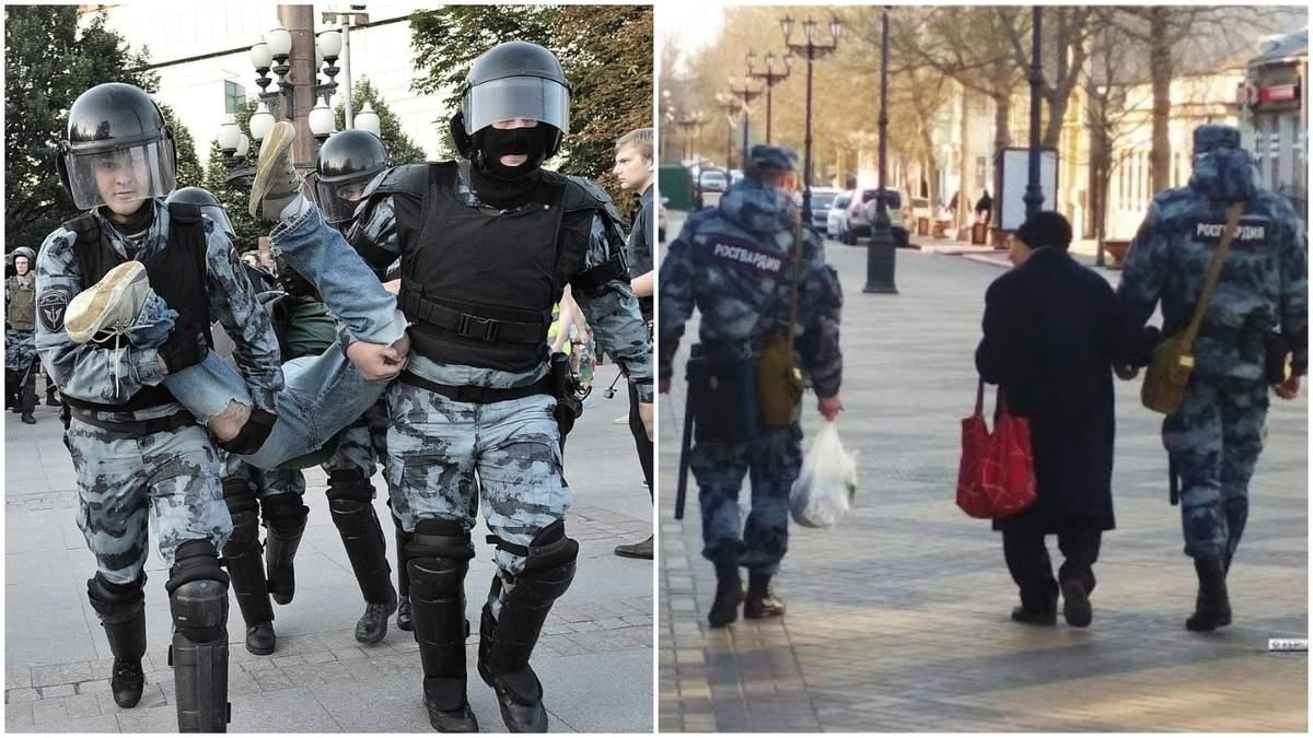 Силовики у Москві затримали чорношкірого, виник скандал: відео, деталі