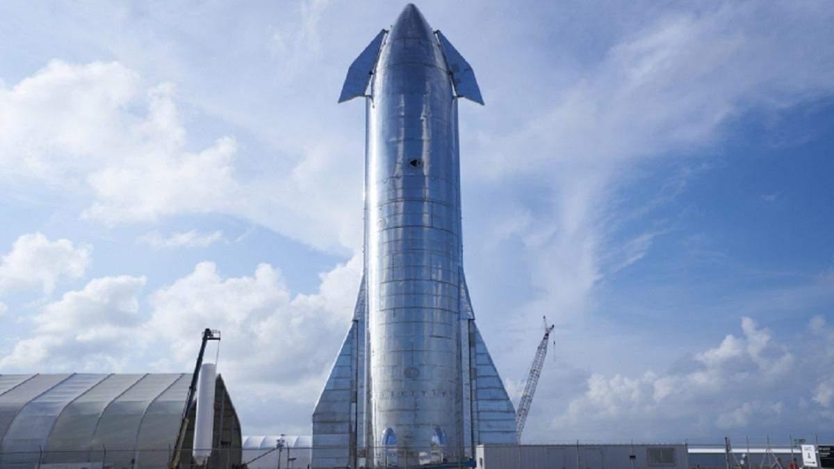 Прототип корабля Starship