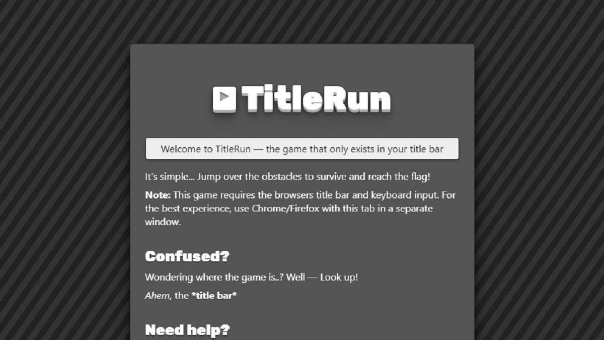Браузерная игра TitleRun