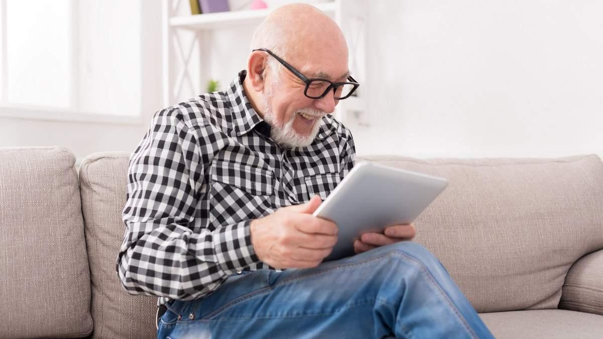 Интернет улучшает память у пожилых