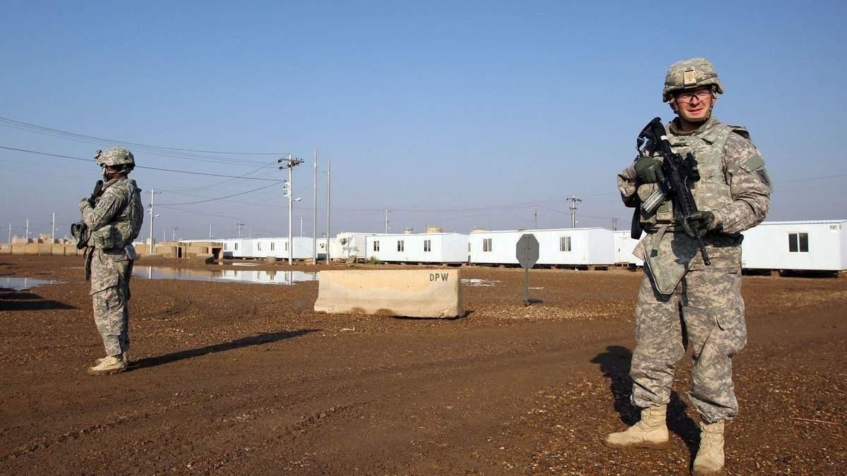 В Іраку розбився американський військовий літак: відео