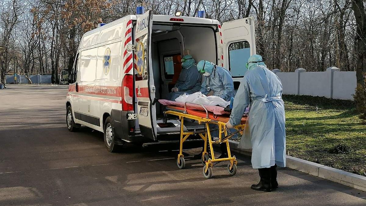 Сколько людей заболели коронавирусом в Украине