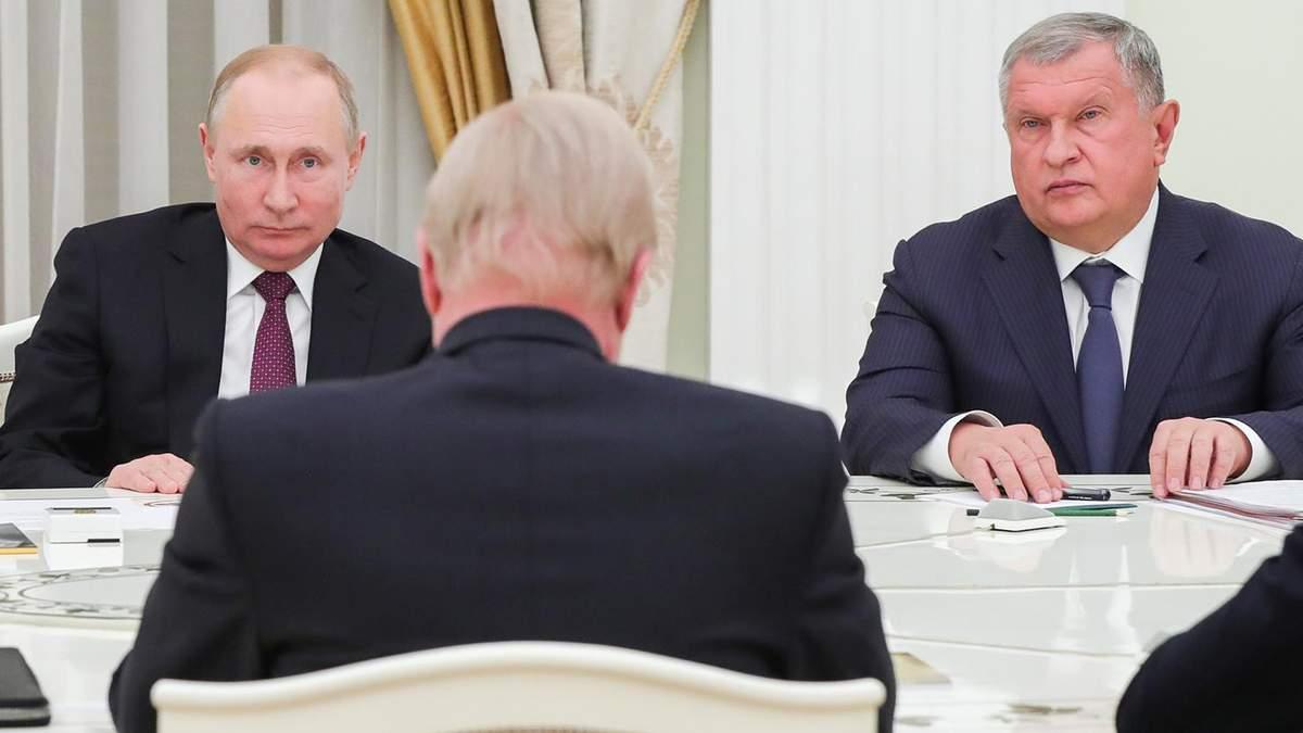 Владимир Путин и глава