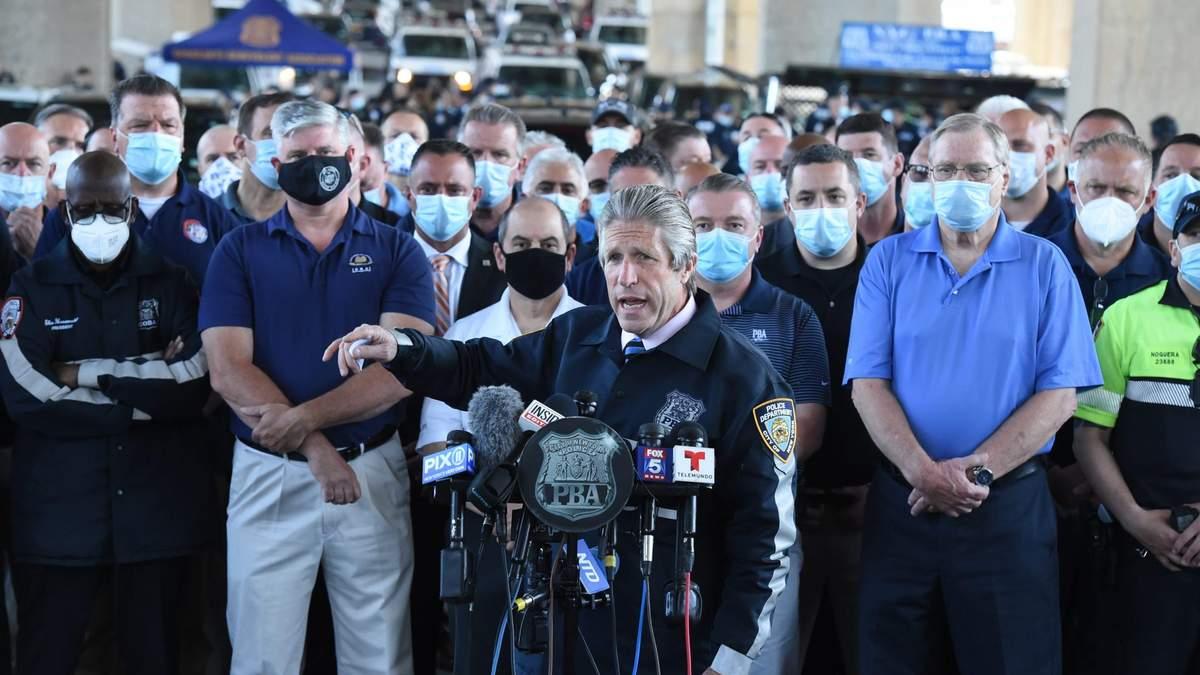 Полиция и профсоюзы в США