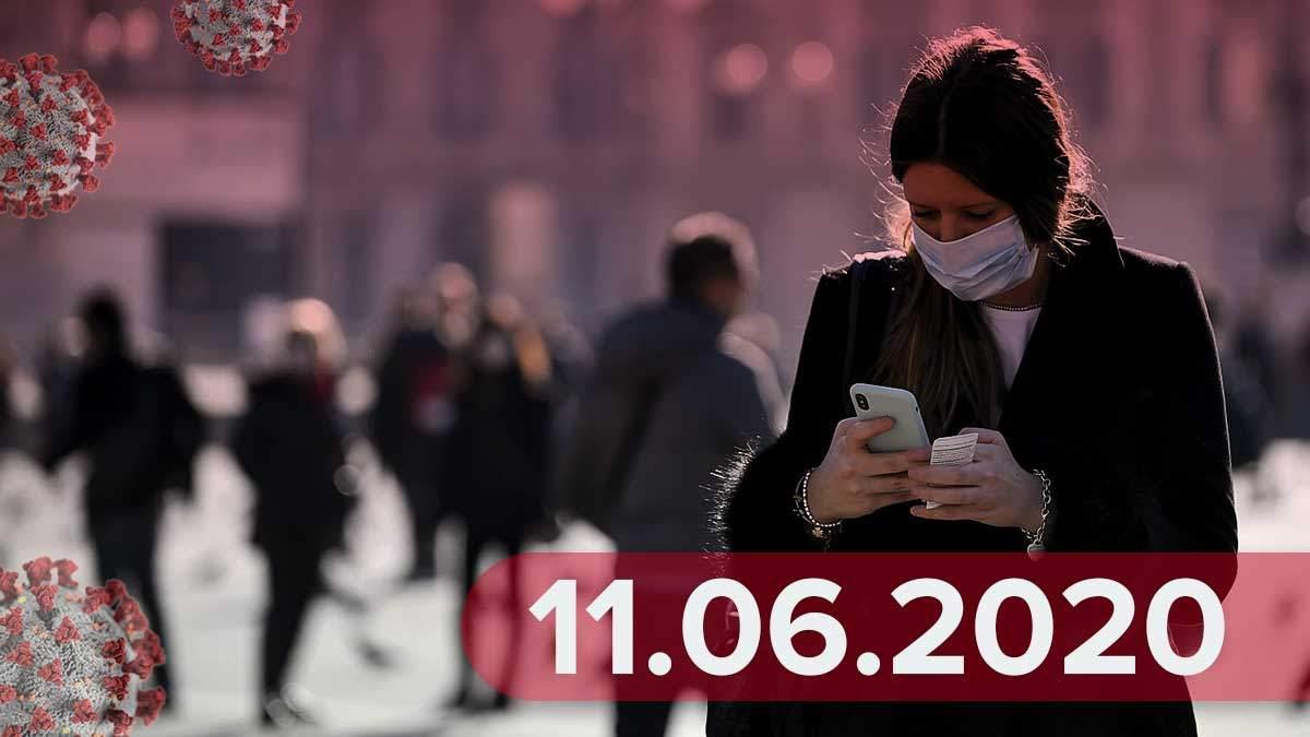 Коронавірус у світі, Україна 11 червня 2020: новини