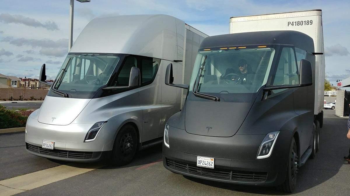 Компания Маска сосредоточится на работе над грузовиком Semi