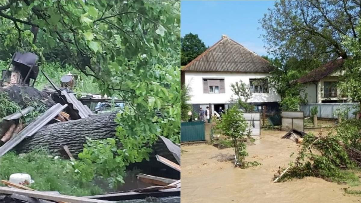Непогода в Украине 11.06. 2020: фото и видео последствий, жертва