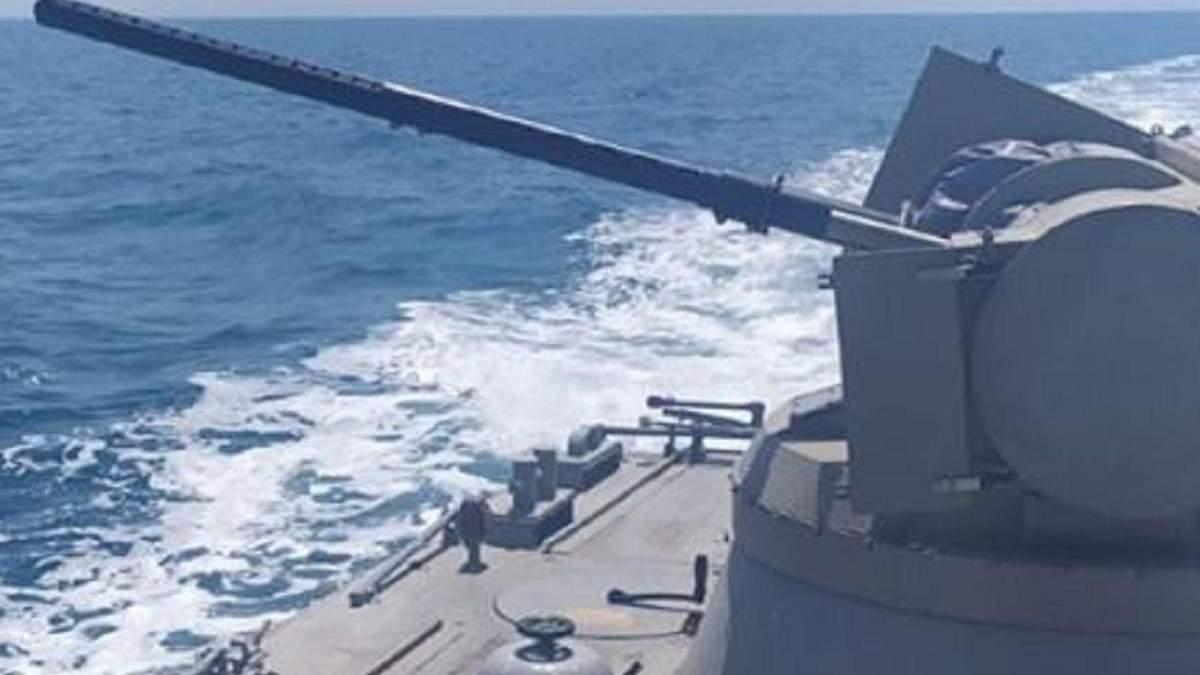 ЗСУ випробували у Чорному морі катер Костопіль: фото та відео