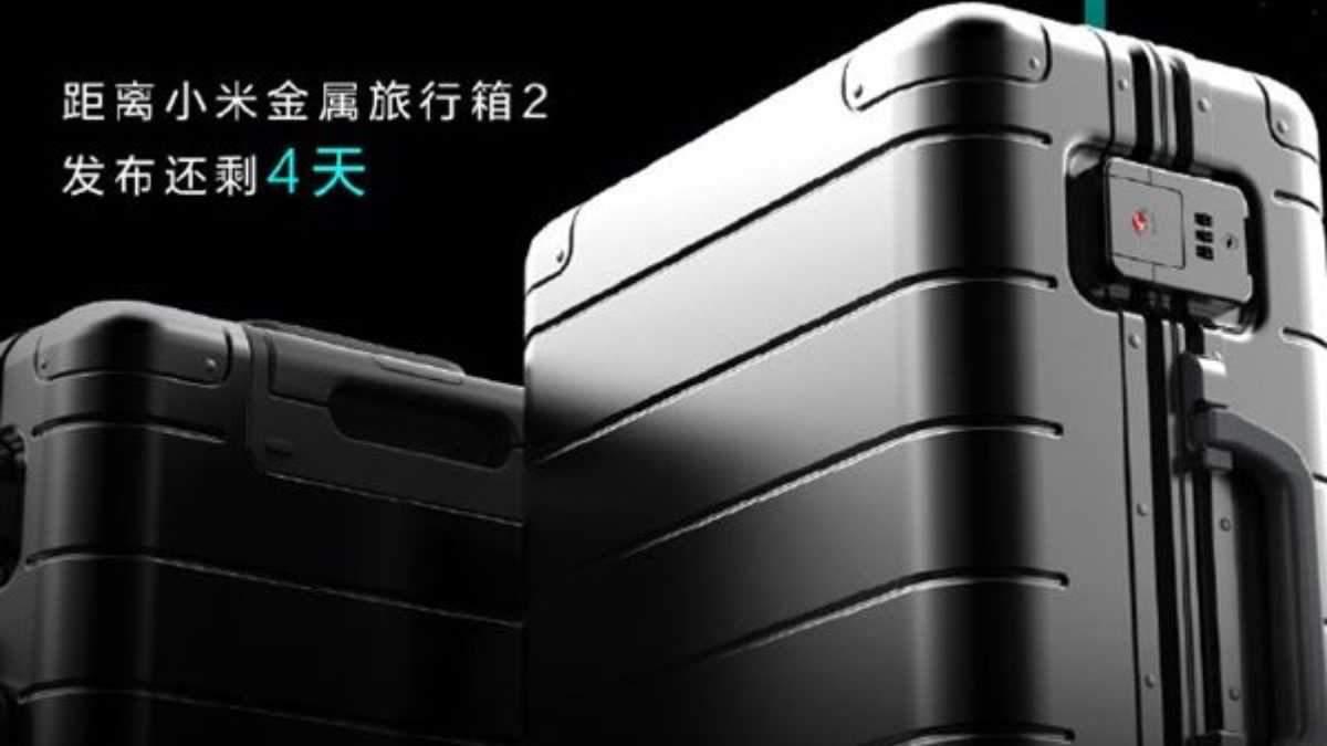 Чемодан Xiaomi Metal Carry-on Luggage 2