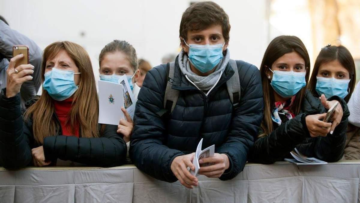 Вспышка коронавируса в мире