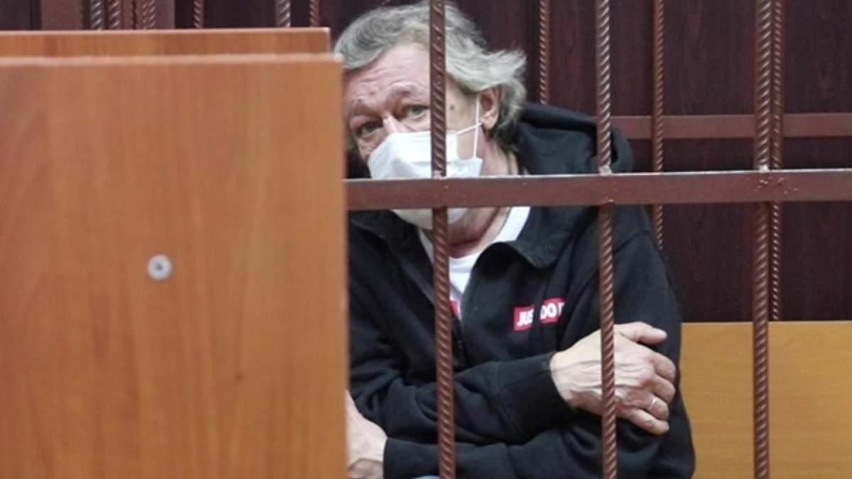 Актор Єфремов попросив пробачення за смертельну ДТП: відео