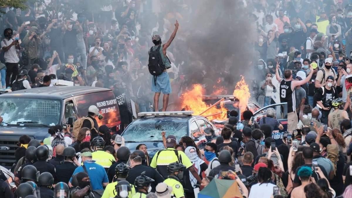 Протести в США – поліція знову вбила афроамериканця – 24 Канал