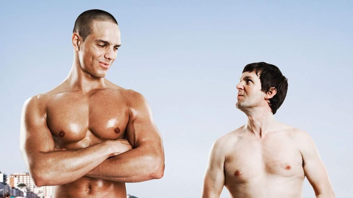 На самом деле не всем женщинам нравятся мужчины со спортивной фигурой тела
