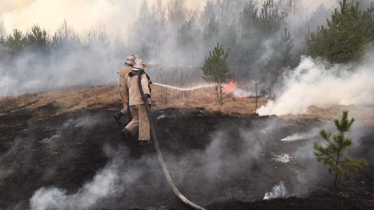 """Пожарные спасают окружающую среды. А что делают """"экоактивисты""""?"""