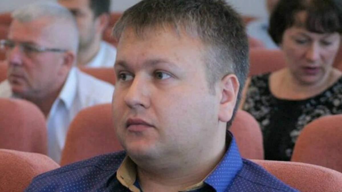 Депутат Олександр Мефодій
