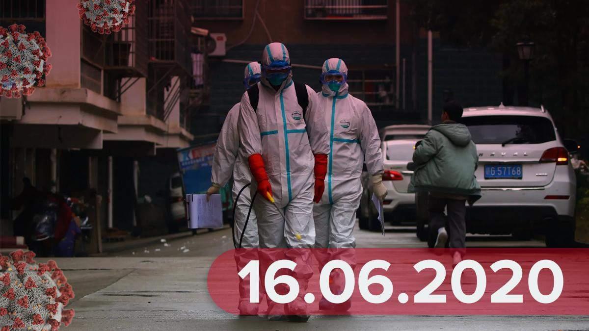 Коронавірус Україна та у світі 16 червня 2020: новини