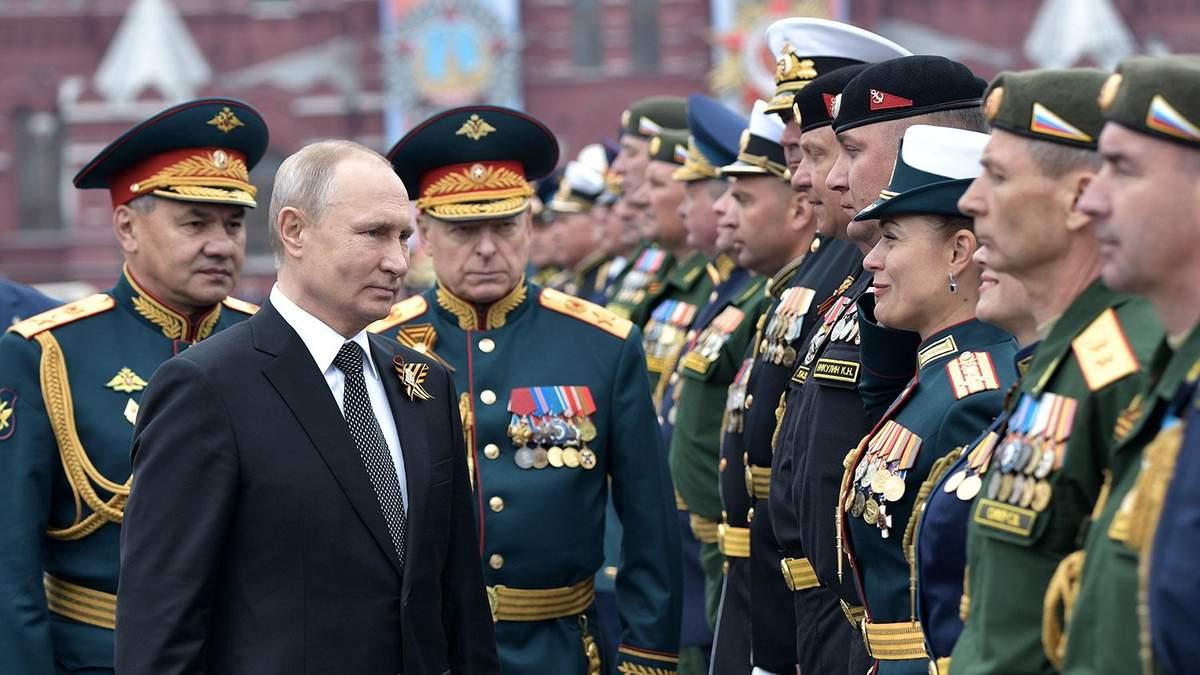 """Парад во время пандемии, или Перейдем сразу к """"обнулению"""" Путина?"""