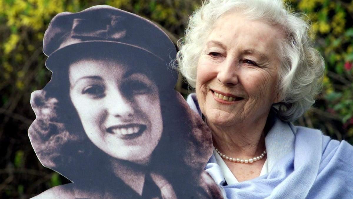 В103-летнем возрасте погибла  эстрадная певица  Вера Линн