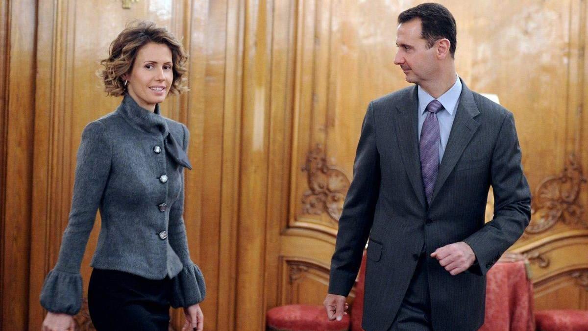 Башар Аль-Асад и его жена Асма