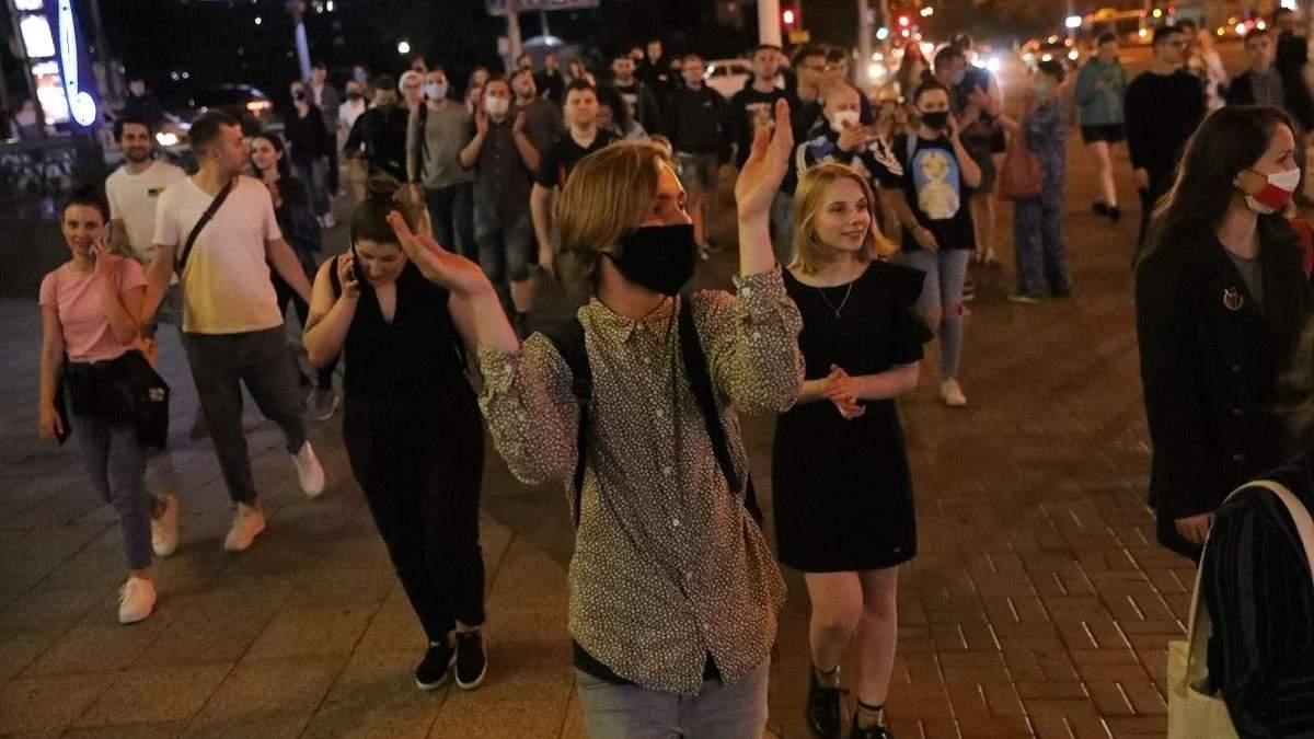 У Білорусі 18 червня 2020 відбулися протести: фото і відео